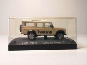 Voiture de collection - Solido, Land Rover, Guide du Routard, France