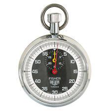 70's FISHER HEUER Stopwatch 7 Jewels  Measuring 60sec/30min