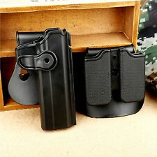 Defense Combo Set Right Handed Roto Holster + Double Magazine Pouch for PT1911