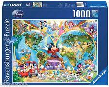 RAVENSBURGER 15785 MAPAMUNDI WORLD MAP DISNEY Puzzle 1000 Piezas Pieces Jigsaw