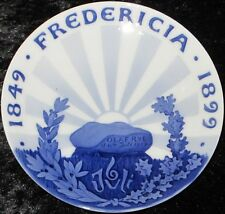 1899 Royal Copenhagen gedenkteller/Commemorative plate #27 Fredericia