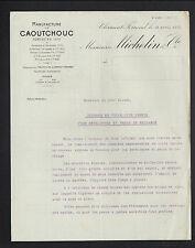 """CLERMONT-FERRAND (63) USINE de PNEUS / HOUSSES pour PNEUS """"MICHELIN & Cie"""" 1912"""