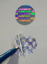 1000 Round Security Hologram Label Tamper Evident 20mm Sticker Seals