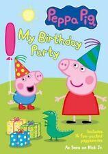 Peppa Pig My Birthday Party 0741952765196 DVD Region 1