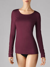 WOLFORD PURE PULLOVER in Dark Orchid Size: S  Ret: $150 New Boxed & w/Tags