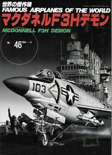 FAOW Famous Airplanes Of The World 46 McDonnell F3H Demon Fighter