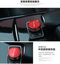 AUTO DECORATIVE ACCESSORIES Car Multimedia Spin BUTTON Cover For Mercedes Benz