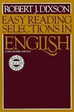 Easy Reading Selections In English-ExLibrary
