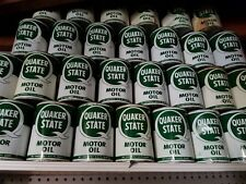 Vintage Quaker State Motor Oil 1 FULL Quart Metal Can