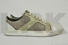 $550 Lanvin Men's Leather Low Sneakers UK 10 US 11 S/S 2010