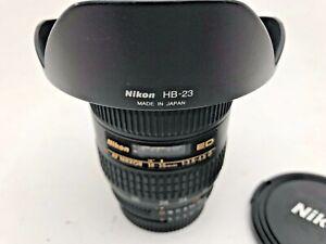 Nikon 18-35mm F3.5-4.5 IF ED lens