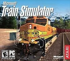 Microsoft Train Simulator PC Game Atari Railroad 2004