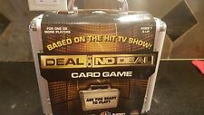 NEW! DEAL OR NO DEAL Card Game in Silver Metal Aluminum Suitcase as Seen on NBC