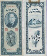 China-Taiwan 1 Yuan Banknote 1949 Very Fine Cat#1953-7717