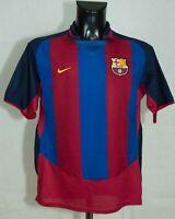 BARCELONA SPAIN 2003/2004 FOOTBALL SHIRT NIKE  SIZE M VGC