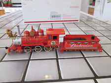 bachmann hawthorne village Budweiser powered steam engine On3O scale /