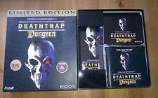 Deathtrap Dungeon Ltd Edition big box book, sealed cards & PC Game Eidos VCG