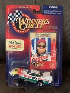 WINNER'S CIRCLE JOHN FORCE LIFETIME SERIES 1994 CHAMPIONSHIP CASTROL GTX CHEVY