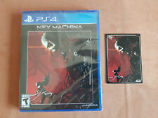 NEX machina LIMITED run games ps4 RARE (sealed with collectors card)