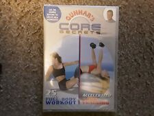 Gunnar's Core Secrets: Full Body Workout / Accelerated Core Training (DVD) New