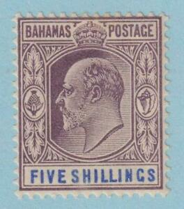 BAHAMAS 42  MINT LIGHTLY HINGED OG * NO FAULTS EXTRA FINE !