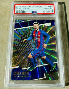 2017 Panini Revolution Sunburst 184 Lionel Messi PSA 10