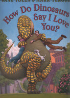 How do dinosaurs say I love you? by Jane Yolen (Paperback) Fast and FREE P & P