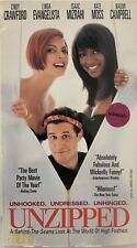 Unzipped VHS Cindy Crawford VHSshopCom