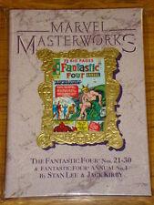 Marvel Masterworks Fantastic Four #21-30 Ann 1 cartonnée GN 0871356295