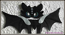 Handmade Kids TOOTHLESS Mask & 48cm Dragon Wings  How to Train Your Dragon