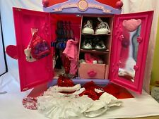 Huge Build a Bear Wardrobe and Clothes, Shoes & Acc  Bundle  - (ROM/GA6660)