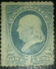 Travelstamps: 1881-82 US STAMPS SCOTT #206, Franklin, Mint, Og, Mnh see scans