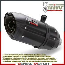 Mivv Exhaust Muffler Suono Black Steel for Ktm 1290 Superduke Gt 2016 > 2018