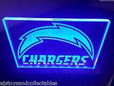 LED Sign-Custom San Diego Charger-plates can be removed and different ones added