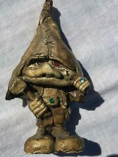 Vintage Gnome With Hammer and Jewels - Super Rare - German?