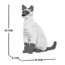 JEKCA Animal Building Blocks Kit for Kidults Siamese Cat 01S-M02