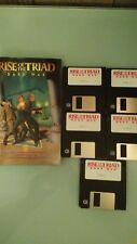 Apogee Rise of the Triad - Dark War -Video Game, 1994- Floppy Disks