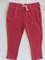 True Religion Big T Wide Leg Sweatpants- Men's 3XL-Ruby Red- NWT $149