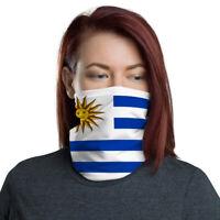 Uruguay Face Mask Neck Gaiter Bandana Uruguay Flag
