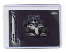 New listing 2020 Topps Chrome Formula 1 Card #32 Daniil Kvyat
