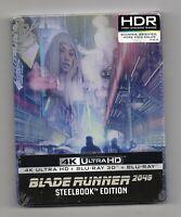Blade Runner 2049 - 4K UHD + 3D +2D - Blu-ray Steelbook - New/Sealed-All Regions
