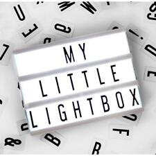 Light Up Your Life A6 Mini Magnetic Cinematic Light Box Sign Fridge Magnet