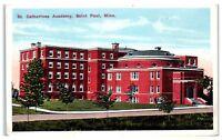 Early 1900s St. Catherine's Academy, St. Paul, MN Postcard