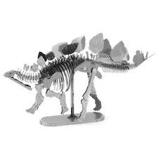 Stegosaurus: Metal Tierra 3D Láser Cortar Esqueleto de Dinosaurio Kit Modelo en Miniatura