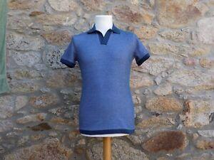 ORLEBAR BROWN.  Short sleeve pique shirt.  100% Cotton.  BNWOT.  Size: Large.