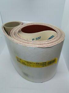 Klingspor Sanding belts, pack of 10, 200 x 3000mm, PS29F, Grit 100, Grinding