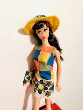 Vintage Mod 1967 Barbie Francie Pretty Wild Groovy Color Magic Outfit Japan