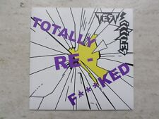 "TEST ICICLES ""TOTALLY RE F***KED"" BOA Vs PYTHON MIX LTD EDITION VINYL 7"" SINGLE"