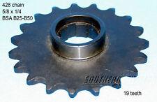 BSA sprocket 19 teeth Ritzel C25 B25 B40 B44 B50 41-3092 /19 520 chain 5/8x1/4