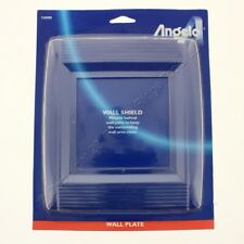 New Angelo CLEAR 2-Gang Wall Shield Switch Plate Cover Wallplate Protector 74999